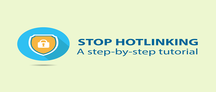 How to Stop Hotlinking on a WordPress website step-by-step